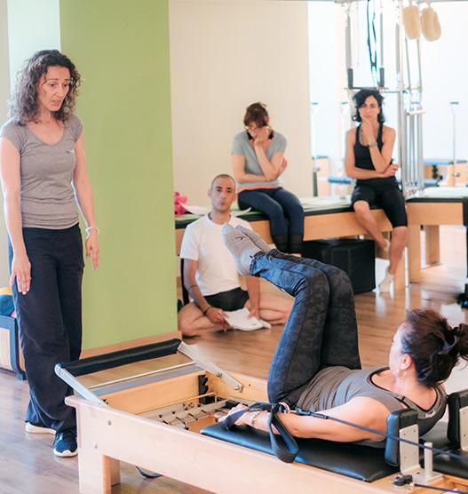 Monitor de Pilates en Valdefuentes